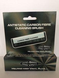 anti-static carbon fibre vinyl cleaning brush