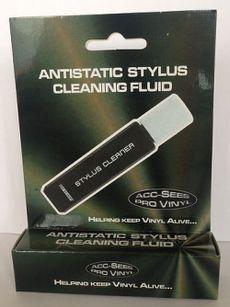 anti-static stylus cleaning fluid & brush
