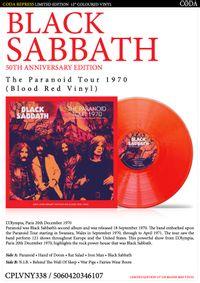 the paranoid tour 1970