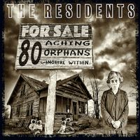 80 Aching Orphans - 45 Years Of The Residents: 4cd / Hardback Book Anthology Set