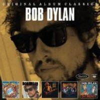 original album classics: Shot Of Love / Infidels / Real Live / Dylan & The Dead / Oh Mercy