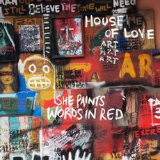 SHE PAINTS WORDS IN RED (2019 reissue)