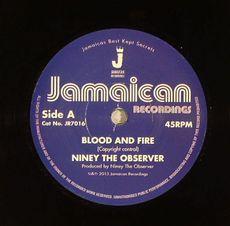 blood & fire / brimstone & fire